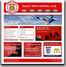 AFTER Dudley Town FC's new website